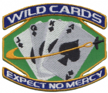 Space: Above & Beyond 'Wildcards - Expect No Mercy' US TV Show Embroidered Patch